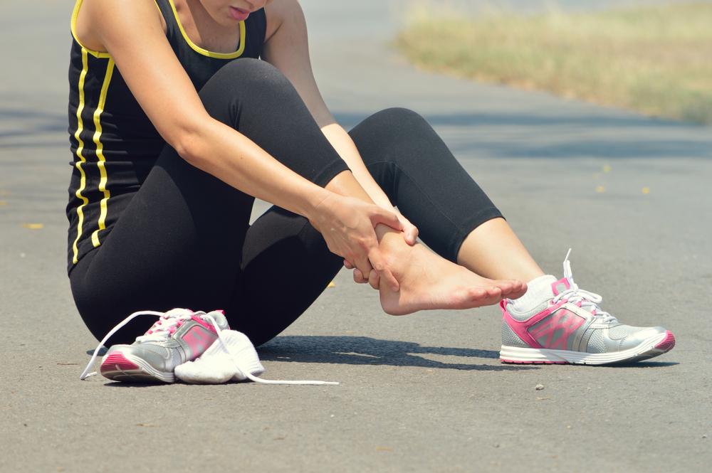 lesión de tobillo esguince